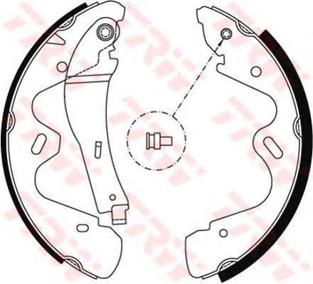 GS8483 Колодки торм.бар. NISSAN TERRANO II 96-06