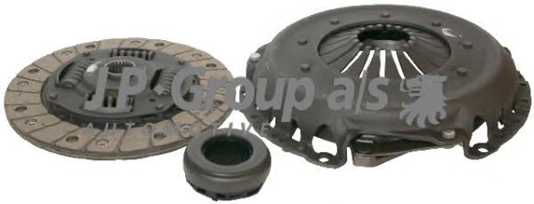 1130401810 Комплект сцепления / AUDI-80,100, A-4,6 ; VW Passat-V  1.6/1.6D/1.8/2.0  ( 210mm )  86~