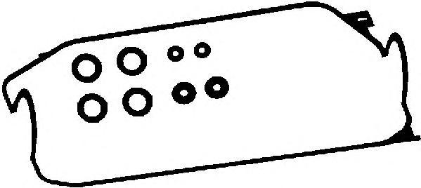 56005700 Прокладка клапанной крышки HONDA CIVIC 1.3-1.6 88-97 к-кт