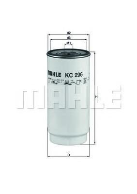 KC296D Фильтр топливный DAF TRUCKS
