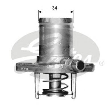 TH15289G1 Термостат RENAULT CLIO/KANGOO/TWINGO 1.2 96-