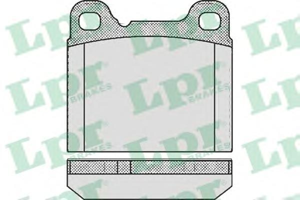 05P362 Колодки тормозные VOLVO 240/760/850/940/C70/S70/V70 задние