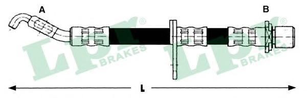 6T47437 Шланг тормозной TOYOTA RAV 4 2.0 94-00 передний прав.