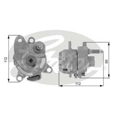 T38225 Натяжитель ремня приводного MB W202/W124/W210 M111