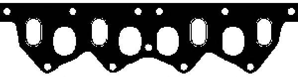 X5123001 Прокладка коллектора Renault 19/21, Volvo 440/460 1.6/1.7 1.6D 86
