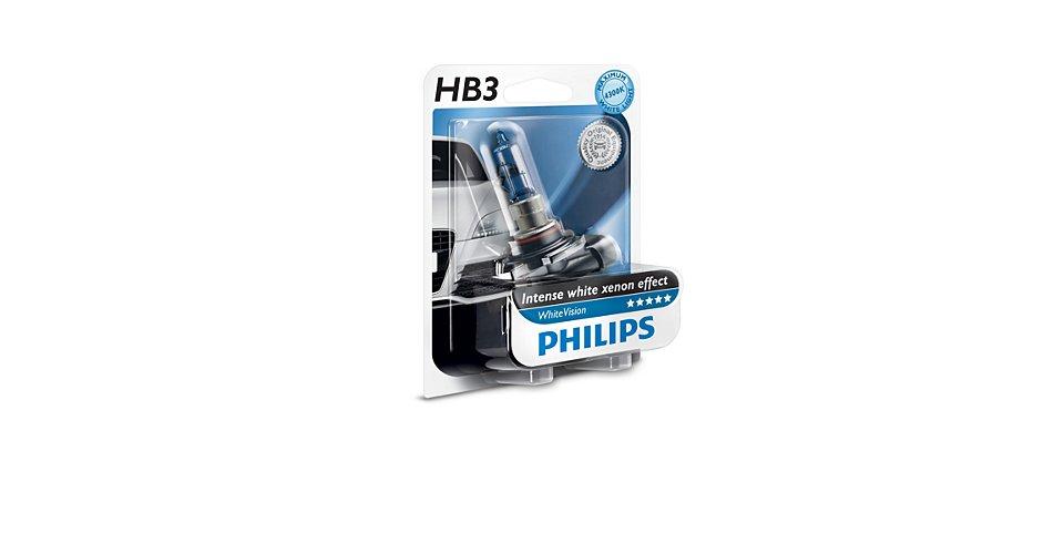 9005WHVB1 Лампа HB3 White Vision 12V 65W P20d (blister 1шт.)