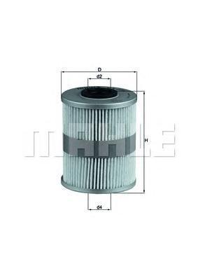 KX206D Фильтр топливный RENAULT/CITROEN/PEUGEOT/OPEL