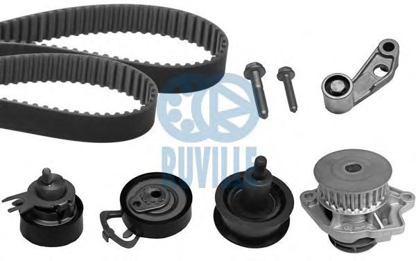55456701 Комплект ремня ГРМ VW GOLF/BORA/LUPO 1.4 16V 97-05 (с помпой)