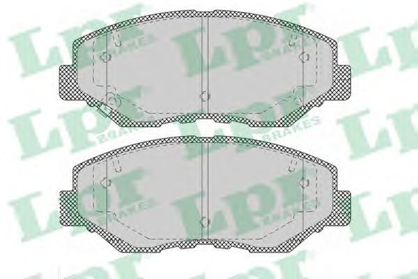 05P1364 Колодки тормозные HONDA CR-V II/ELEMENT 02- передние
