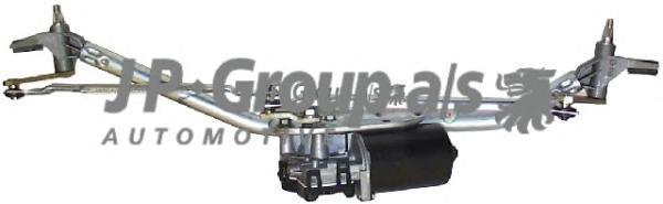 1198100200 Механизм стеклоочистителя (с мотором)  / VW Bora,Golf-IV 98~