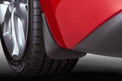 BHS2V3460 Брызговики задние Mazda 3 BM х/б 2013--