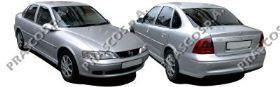 OP0541051 Бампер задний грунтованный / OPEL Vectra B ( Sedan, Hatch ) 02/99~