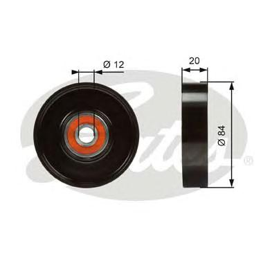 T36321 Ролик ремня приводного NISSAN/INFINITI VQ35DE