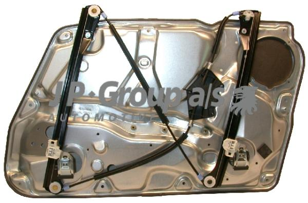 1188101871 Стеклоподъемник передний левый в сборе с рамкой / VW Passat 97~05