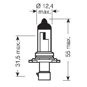 9006XS Лампа HB4A 12V-51W (P20d) ORIGINAL LINE ORIGINAL LINE