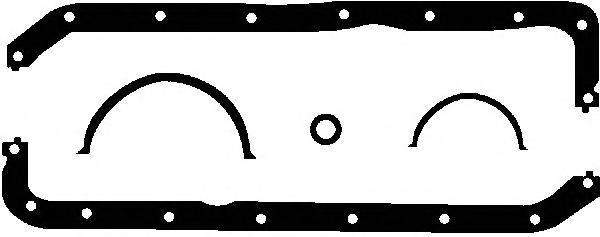 101305201 Прокладка масляного поддона Ford Escort 1.1/1.3 86