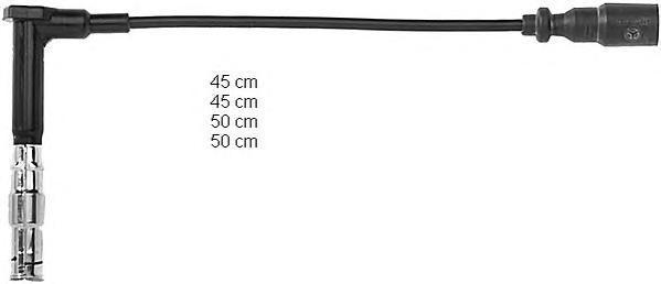zef642 Комплект проводов зажигания