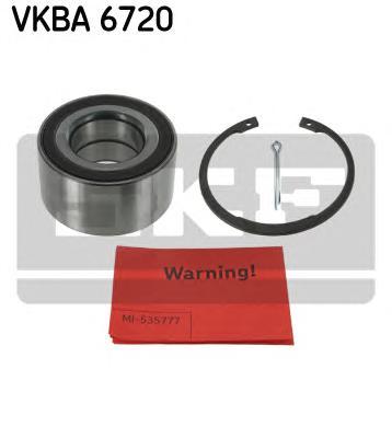 VKBA6720 Подшипник ступицы перед Opel Meriva 10-