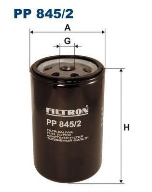 PP8452 Фильтp топливный