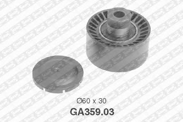 GA35903 Ролик ремня приводного PEUGEOT PARTNER/FORD FOCUS 1.4D/1.6D