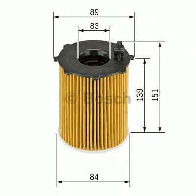 1457429307 Фильтр масляный LAND ROVER RR 2.7 TD/PEUGEOT 407/CITROEN C5