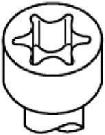 HBS031 Комплект болтов ГБЦ Ford Mondeo 1.6-2.0 16V 92