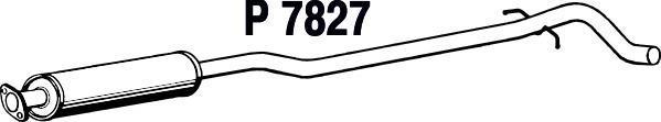 P7827 Резонатор VOLVO V70 2.4/2.4T/D/2.5T 00-