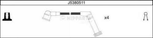 J5380511 Провода в/в HYUNDAI GETZ/ATOS PRIME 1.1