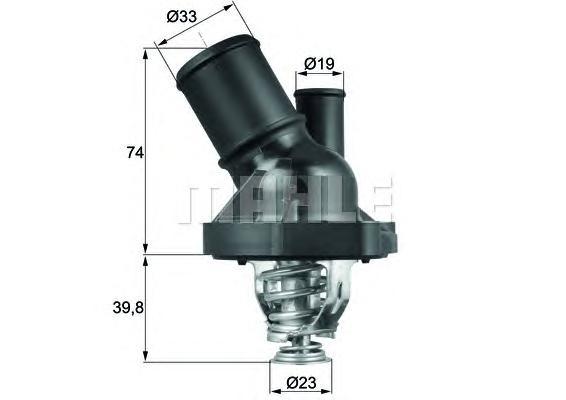 TI20090 Термостат FORD MONDEO/GALAXY/S-MAX / VOLVO S80 1.6-2.5/1.6TD-2.2TD 06-