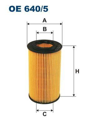 OE6405 Фильтр масляный MB W202/203/210/211/220 2.4-6.0