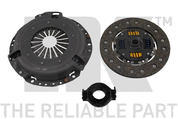 134734 Комплект сцепления / AUDI-80,100;VW Passat-II 1,6 TD/1,8 (210 mm) 81~
