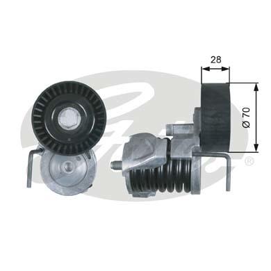 T39287 Натяжитель ремня приводного BMW E81/E90/E60 2.0