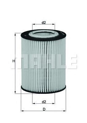 OX433D Фильтр масляный VOLVO S80/XC90/LAND ROVER FREELANDER 3.0/3.2 06-