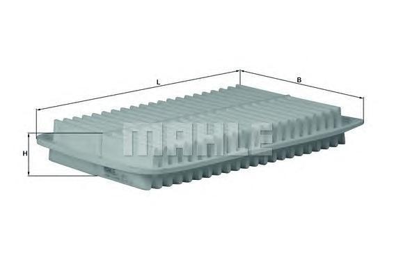 LX1612 Фильтр воздушный TOYOTA CAMRY 2.4/3.0 01-06/LEXUS RX300/350 03-