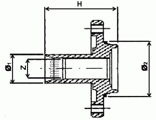 485202 Ступица колеса FORD ESCORT/FUSION/FIESTA/FOCUS/KA 1.25-1.8D 89-04