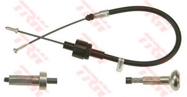 gcc1287 Трос, управление сцеплением