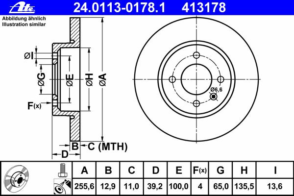 24011301781 Диск тормозной передн, SEAT: INCA 1.4 16V/1.4 i/1.6 i/1.9 D/1.9 SDI/1.9 TDI 95-03, TOLEDO I 1.9 TDI 91-99  VW: CADDY