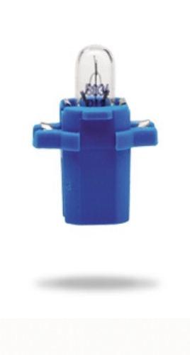 17058 Лампа 12V 2W BAX10S blue