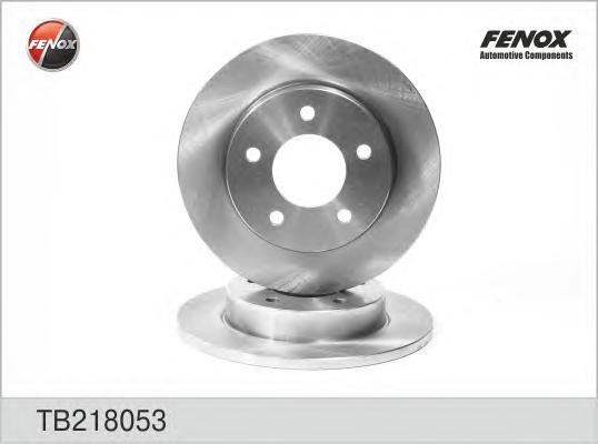 TB218053 Диск тормозной MAZDA 3 1.4-2.0 03- задний
