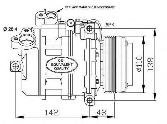 32123 Компрессор BMW E38