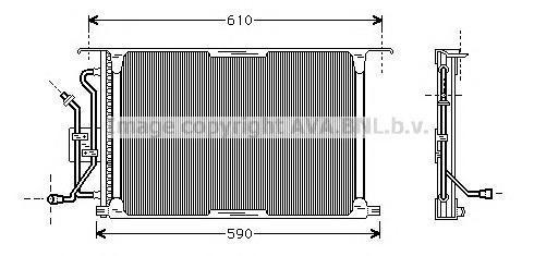 FD5258 Радиатор кондиционера FORD: FIESTA IV (JA_, JB_) 1.0 i/1.25 i 16V/1.3 i/1.4 i 16V/1.6 16V Sport/1.8 D/1.8 DI 95 - 02 , FI