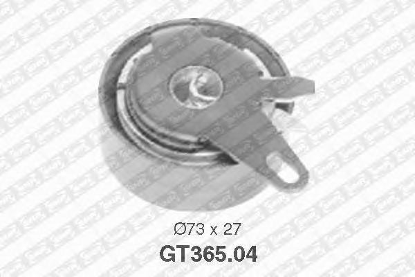 GT36504 pолик натяжной pемня ГPМ! VW T4 LT28-46