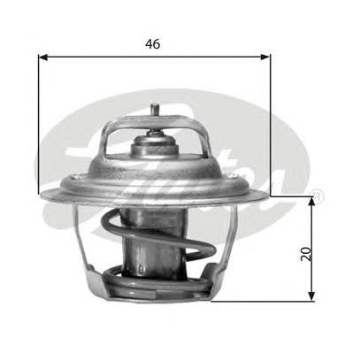 TH02791G1 Термостат DODGE CARAVAN 3.0-3.8 95-01
