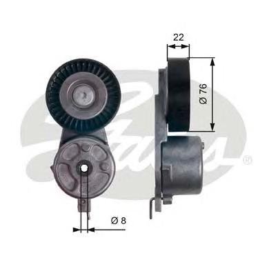 T39141 Натяжитель ремня приводного FORD MONDEO/GALAXY 1.8D 06-