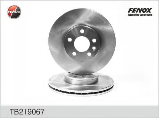 TB219067 Диск тормозной FORD GALAXY 95-06/VW SHARAN 95-/TRANSPORTER IV передний D=300мм.