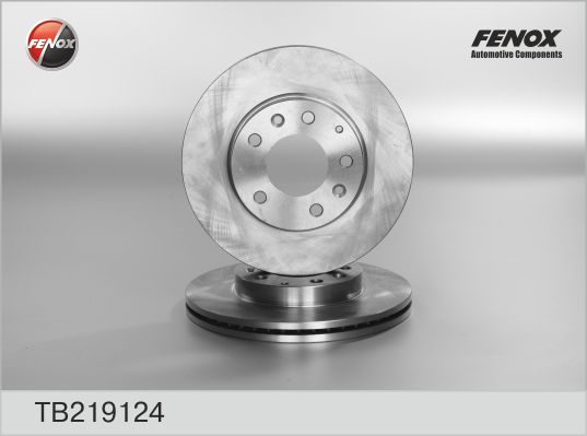 TB219124 Диск тормозной MAZDA 323 2.0 01-04/626 2.0 98-02/6 1.8 02-/PREMACY 2.0 99- пер.