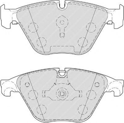 FDB4382 Колодки тормозные BMW 5 F10/F11 3.0 10-/7 F01-04 3.0 08- передние