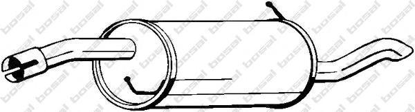 154161 Глушитель задняя часть