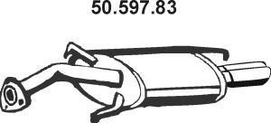 5059783 Глушитель MITSUBISHI CARISMA 1.8 GDI 97-99
