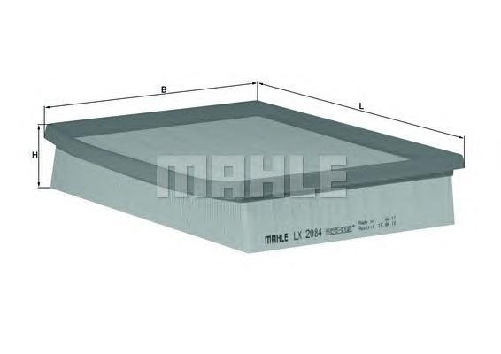 LX2084 Фильтр воздушный RENAULT LAGUNA 1.6/2.0 07-